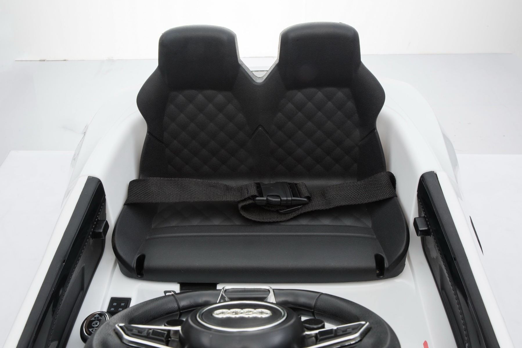 Double leather seats