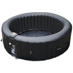 BeneoSpa Portable Inflatable Bubble Spa, Hot Tube, Jacuzzi, Black