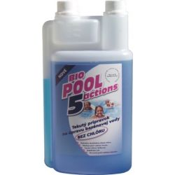 BioPool 5 chlorine-free liquid for pool water treatment