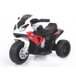 Electric Ride on Trike BMW S 1000 RR, Battery Powered Motorcycle, 3 wheels, Licensed, 1x Engine, 6V Battery