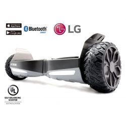 "Hooboard GO! 6,5"" All Terrain Smart Self Balance Scooter Board, Hoverboard, UL Certified, LG Battery, IPX4 Water Resistant, Dustproof"