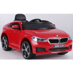 Electric Ride on Car BMW 6GT – Single seat, Red, Original Licenced, Battery Powered, Opening Doors, 2x Engine, Battery 2x 6V/4 Ah, 2.4 Ghz remote control, Smooth start